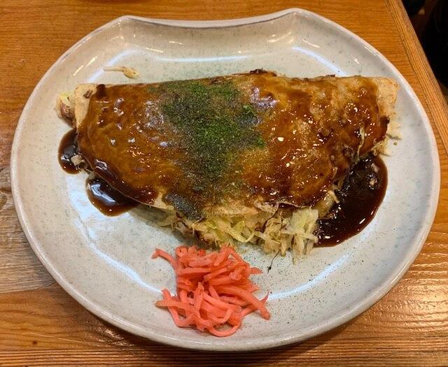 「都一(といち)」高コスパの晩酌セット。老舗ならではの伝統の味。熊本・花畑町(下通り)/お好み焼き・焼きそば・居酒屋