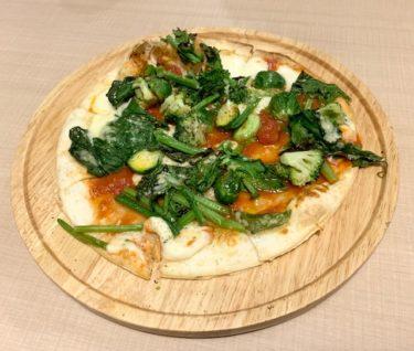 「ボッチョーロ」ザクザク食感の野菜ピザ・エビのトマトクリームパスタは絶品でした。熊本・東区/イタリアン
