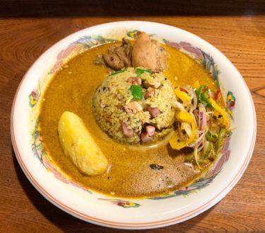「BAHIA(バイーア)」クセになる味の絶品スリランカカレー。テイクアウトも可能。並木坂にこんなお洒落で隠れ家的なスポットがあったとは。熊本・上通り/カレー