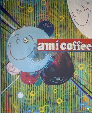 「ami coffee(アミコーヒー)」女性からの人気No.1は「ラズベリー・カフェモカ・ホイップタピオカ」。バリエーション豊富なタピオカが楽しめるお店。熊本・九品寺/スイーツ