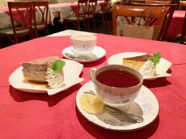 「ブーシーズカフェ」とてもお得なケーキセットがおすすめ♪素敵なテラス席でゆっくりカフェタイム。
