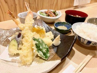 「鹽(しお)」これで700円!?ランチでお得な天ぷら定食発見です♪熊本・下通り