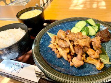 「はらべこ」12月5日オープン!赤鶏の炭火焼き定食は反発力MAX級で新鮮です♪熊本・上乃裏
