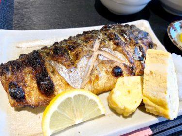 「呑みてい」今年一番のトロサバ定食を発見しました!脂がのりまくってて洪水警報レベルです。熊本・下通り