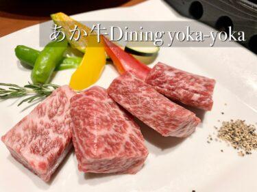 肉肉肉、とにかく肉が凄い!あか牛ダイニングyoka-yoka@熊本・中央区